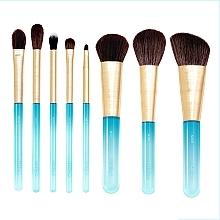 Духи, Парфюмерия, косметика Набор кистей для макияжа, 8шт - Nabla Aquamarine Essential Brush Set