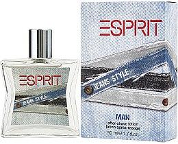 Духи, Парфюмерия, косметика Esprit Jeans Style Man - Лосьон после бритья