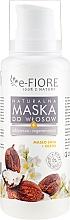 Духи, Парфюмерия, косметика Маска для волос с маслом Ши и растительными маслами - E-Fiore Shea Oil And Oils Hair Mask
