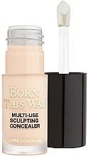 Духи, Парфюмерия, косметика Консилер для лица - Too Faced Born This Way Multi-Use Sculpting Concealer (мини)