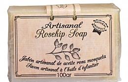 Духи, Парфюмерия, косметика Натуральное мыло с шиповником - Arganour Rosehip Oil Soap