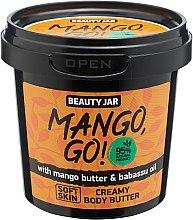 "Духи, Парфюмерия, косметика Крем для тела ""Mango, Go!"" - Beauty Jar Shimmering Creamy Body Butter"
