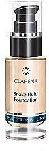 Духи, Парфюмерия, косметика Тональный флюид для лица - Clarena Snake Fluid Foundation