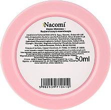 Медовая гель-маска для лица - Nacomi Honey Face Gel-Mask  — фото N2