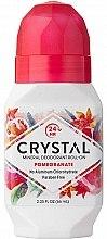 Роликовый дезодорант с ароматом Граната - Crystal Essence Deodorant Roll-On Pomegranate — фото N1