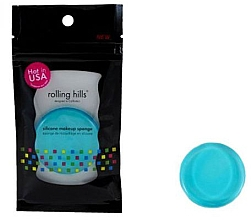 Духи, Парфюмерия, косметика Силиконовый спонж для макияжа, голубой - Rolling Hills Silicone Makeup Sponge Blue