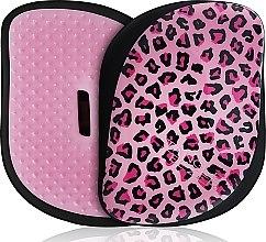 Духи, Парфюмерия, косметика Щетка для волос - Tangle Teezer Compact Styler Pink Kitty Mobile Brush