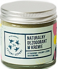 Духи, Парфюмерия, косметика Дезодорант-крем с цитрусово-травяным запахом - Cztery Szpaki