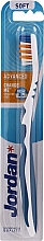 Духи, Парфюмерия, косметика Зубная щетка мягкая Advanced, без колпачка, голубая - Jordan Advanced Soft Toothbrush