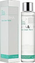 Духи, Парфюмерия, косметика Тоник для лица - Mizon AHA & BHA Daily Clean Toner