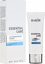 Духи, Парфюмерия, косметика Крем для сухой кожи - Babor Essential Care Lipid Balancing Cream