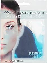 Духи, Парфюмерия, косметика Коллагеновая терапия с морскими водорослями - Beauty Face Collagen Hydrogel Mask