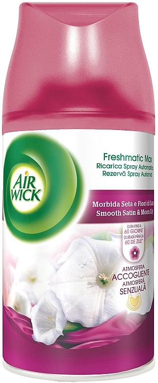 Освежитель воздуха - Air Wick Freshmatic Smooth Satin & Moon Lilly — фото N1