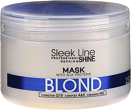Духи, Парфюмерия, косметика Маска для волос - Stapiz Sleek Line Blond Hair Mask