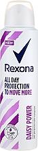 Духи, Парфюмерия, косметика Антиперспирант-спрей - Rexona Daisy Power Antiperspirant Deodorant