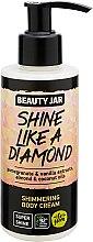 "Духи, Парфюмерия, косметика Крем для тела с блестками ""Shine Like A Diamond"" - Beauty Jar Shimmering Body Cream"