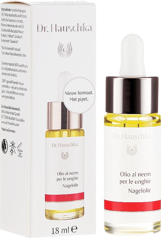 Масло для ногтей с ниимом - Dr. Hauschka Neem Nail & Cuticle Oil — фото N1