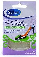 Духи, Парфюмерия, косметика Невидимые гелевые подушечки смягчающие удар при ходьбе - Scholl Party Feet Heel Cushions