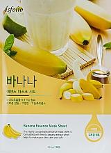 Духи, Парфюмерия, косметика Тканевая банановая маска - Esfolio Essence Mask Sheet