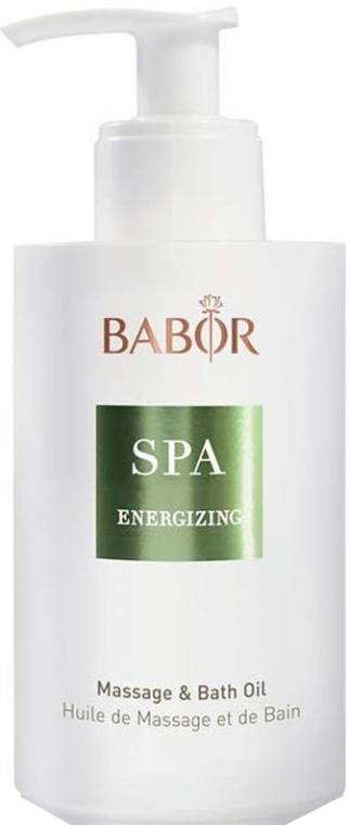 Масло для массажа и ванн - Babor Energizing Massage & Bath Oil — фото N1