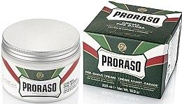 Духи, Парфюмерия, косметика Крем до бритья с ментолом и эвкалиптом - Proraso Green Pre Shaving Cream