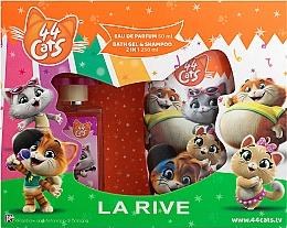 Духи, Парфюмерия, косметика La Rive 44 Cats - Набор (edp/50ml+gel/sh/250ml)