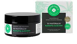 Духи, Парфюмерия, косметика Универсальный крем для лица и тела с натуральным конопляным маслом - Green Feel's Universal Face And Body Cream
