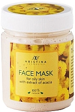 "Духи, Парфюмерия, косметика Маска для лица ""Акация"" - Hristina Cosmetics Acacia Extract Face Mask"