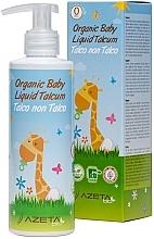 Духи, Парфюмерия, косметика Органический детский крем с жидким тальком - Azeta Bio Organic Baby Liquid Talcum