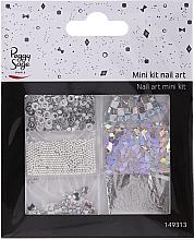 Духи, Парфюмерия, косметика Набор для дизайна ногтей, 149313 - Peggy Sage Mini Kit Nail Art Argent