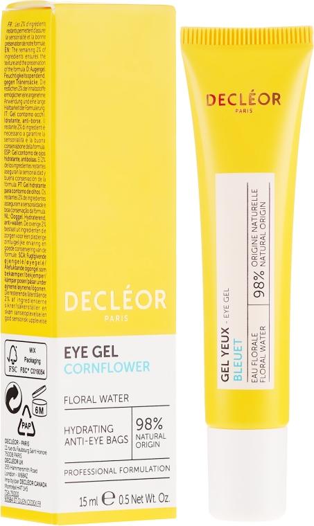 Увлажняющий гель-крем для кожи контуров глаз - Decleor Hydra Floral Everfresh Hydrating Wide-Open Eye Gel — фото N1