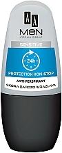 Духи, Парфюмерия, косметика Шариковый дезодорант - AA Men Protection Non-Stop 24h Anti-Perspirant Sensitive