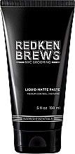 Духи, Парфюмерия, косметика Моделирующая паста для волос - Redken Brews Liquid Matte Paste