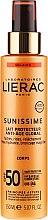 Духи, Парфюмерия, косметика Солнцезащитное молочко для тела SPF50 - Lierac Sunissime