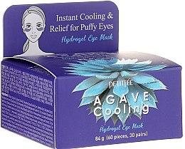 Духи, Парфюмерия, косметика Гидрогелевые охлаждающие патчи для глаз с экстрактом агавы - Petitfee&Koelf Agave Cooling Hydrogel Eye Mask