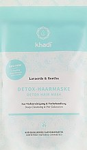 Духи, Парфюмерия, косметика Детокс-маска для волос для очищения и детоксикации - Khadi Detox Hair Mask
