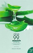 Духи, Парфюмерия, косметика Гидрогелевая маска - Holika Holika Aloe 99% Soothing Gel Jelly Mask Sheet