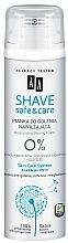 Духи, Парфюмерия, косметика Увлажняющая пена для бритья - AA Shave Safe & Care
