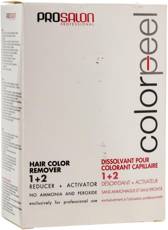Смывка для удаления стойких красок - Prosalon Color Peel Hair Remover — фото N5