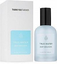 Духи, Парфюмерия, косметика Глубоко увлажняющая эмульсия - Thank You Farmer True Water Deep Emulsion