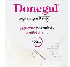 Набор искусственных ногтей - Donegal Nail Tips & Glue — фото N2