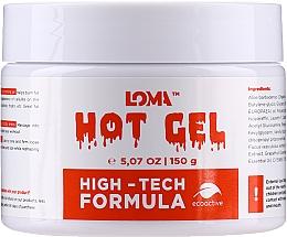 Духи, Парфюмерия, косметика Согревающий гель-крем для тела - Loma Sports Hot Gel Cream