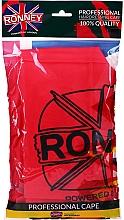 Духи, Парфюмерия, косметика Парикмахерская накидка, универсальный размер, красная - Ronney Professional Hairdressing Cape One Size