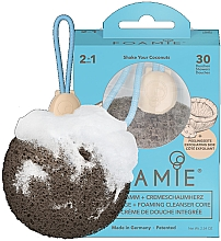 Духи, Парфюмерия, косметика Мягкая очищающая губка с мылом для душа - Foamie Shake Your Coconuts Shower Sponge