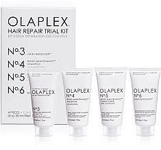 Духи, Парфюмерия, косметика Набор для восстановления волос - Olaplex Hair Repair Trial Kit (shm/30ml + con/30ml + elixir/30ml + h/cr/30ml)