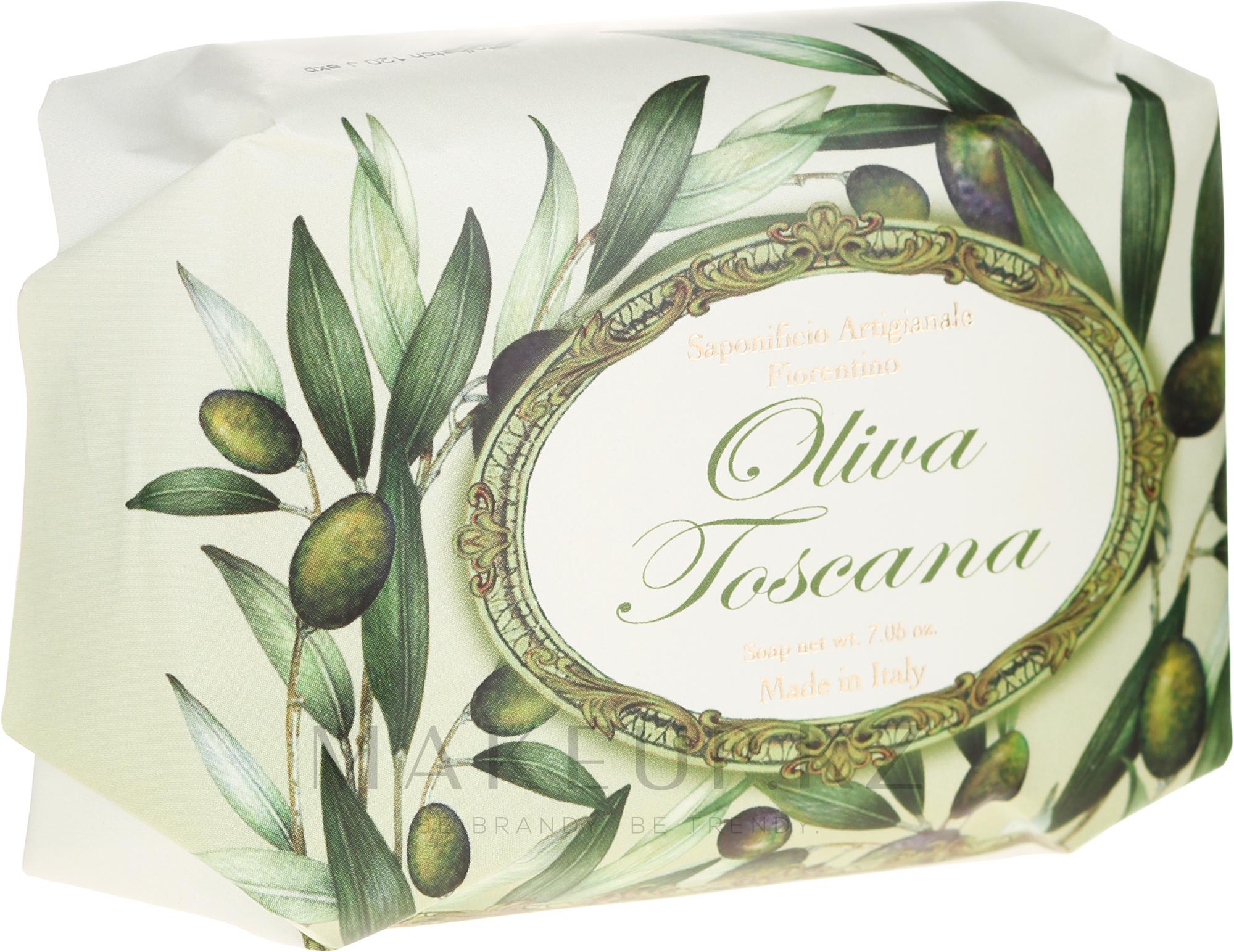 """Натуральное мыло """"Олива"""" - Saponificio Artigianale Fiorentino Olive Soap — фото 200 g"""