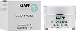 Духи, Парфюмерия, косметика Базовый микропилинг для лица - Klapp Clean & Active Micro Peeling