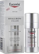 Духи, Парфюмерия, косметика Ночная восстановительная сыворотка от морщин - Eucerin Hyaluron-Filler Night Peeling & Serum