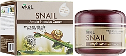 Духи, Парфюмерия, косметика Крем для лица с экстрактом муцина улитки - Ekel Ample Intensive Cream Snail