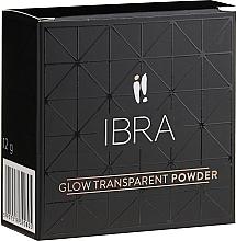 Духи, Парфюмерия, косметика Осветляющая рассыпчатая пудра для лица - Ibra Glow Transparent Powder (3)